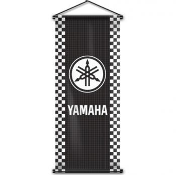 Fan Cheering Hand Held Yamaha Logo Roll Banner