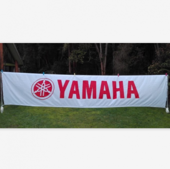 Custom Size Yamaha Polyester Banner for Advertising