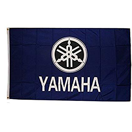 Yamaha Racing Car Banner 3x5ft Polyester Flag For Yamaha Buy Product