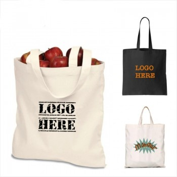 Personalized Promotional Tote Bag, PP Non-Woven Shopping Grocery Canvas, Soft Cotton Shoulder, Plastic Paper Fashion Recycle/Reusable Bag