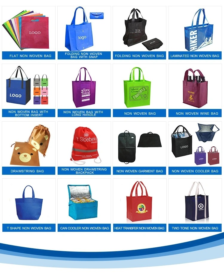 Personalized Promotional Tote Bag, PP Non-Woven Shopping Grocery Canvas, Soft Cotton Shoulder, Plastic Paper Fashion Recycle/Reusable Bag, Custom Logo Gift Bag