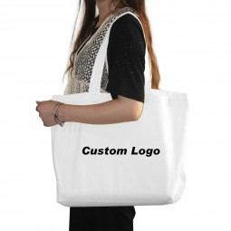 PP Non-Woven Shopping Grocery Canvas,Organic Cotton Shoulder,Plastic Paper Fashion Recycle/Reusable Bag, Custom Logo Gift Bag
