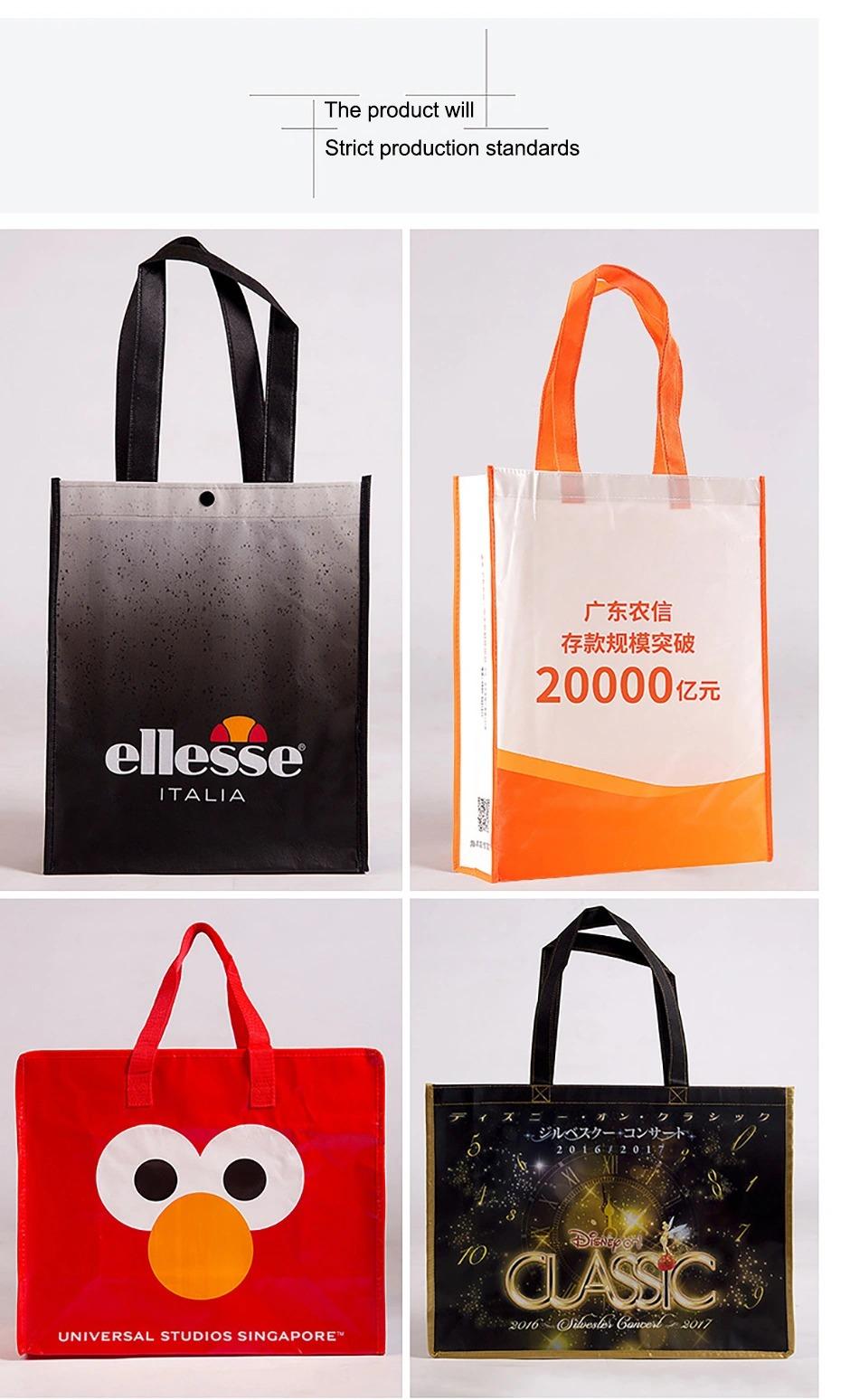Tote Eco Friendly Non Woven Custom Logo Reusable Shopping Bag for Shopping